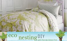 DIY duvet cover. I really want to make a duvet cover--- just need to find some cute sheets :)