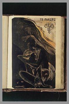 Eugène Henri Paul Gauguin (7 June 1848 – 8 May 1903) - РИСУНКИ ИЗ АЛЬБОМА «NOANOA»: illustrograf Tahiti, Grafik Art, Paul Gauguin, Nocturne, Vincent Van Gogh, Contemporary Paintings, Sketchbooks, Impressionism, Les Oeuvres