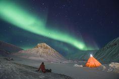 Northern Lights - Svalbard, Norway