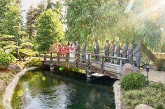 Jewish Wedding Ceremony | Unique Locations - Bridge in Japanese Gardens {William Innes Photography} - mazelmoments.com