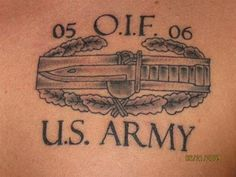 Wonderful US Army Tattoo