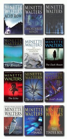 """Minette Walters is a great crime writer. Our learners enjoy """"Chicken Feed"""" fromt eh Quick Reads series."""