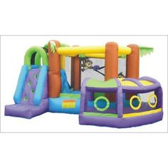 Kidwise Explorer Inflatable Bounce House with Slide http://www.ebay.com/itm/Kidwise-Explorer-Inflatable-Bounce-House-Slide-/230960411310?pt=Outdoor_Toys_Structures_US=item35c65032ae