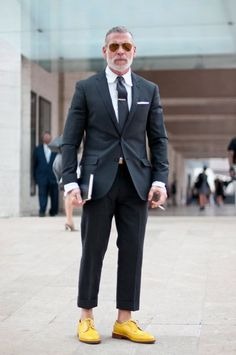 This is Nick Wooster — Men's Fashion Director of Neiman Marcus & Bergdorf Goodman