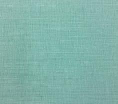 China Seas Fabric: Bahama Cloth - Custom Light Turquoise on Belgian Linen/Cotton