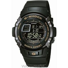 Mens Casio G-Shock Alarm Chronograph Watch G-7710-1ER