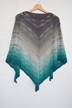 Ravelry: Kalinda Shawl pattern by Sylwia Kawczyńska