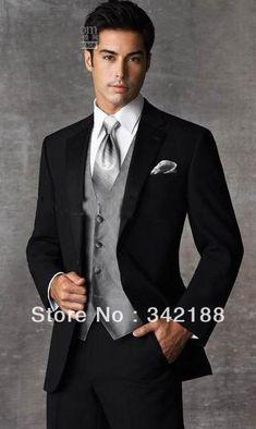 Best Groomsmen Photos | 2014 best sale Groom Tuxedos Best man Suit Wedding Groomsman/Men Suits ...
