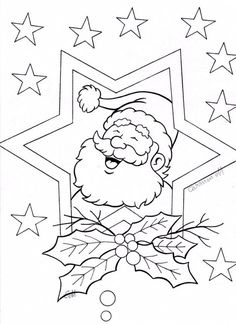 Coloring Book Pages, Printable Coloring Pages, Coloring Pages For Kids, Christmas Colors, Christmas Art, Christmas Themes, Christmas Coloring Sheets, Christmas Embroidery Patterns, Christmas Quilting