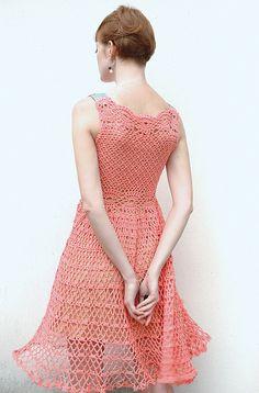 ergahandmade crochet dress diagrams more - PIPicStats Black Crochet Dress, Crochet Skirts, Crochet Clothes, Knit Dress, Prom Dress Shopping, Online Dress Shopping, Crochet Woman, Knit Crochet, Dress Vestidos