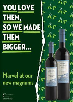 Quinta de Bons Ventos magnums poster