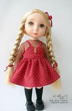 ООАK. Одежда и обувь для кукол Дисней