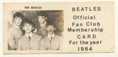 1964 Beatles Fan Club