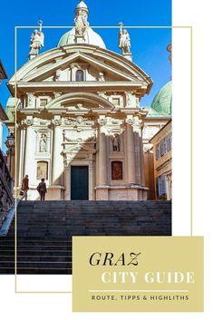 Graz ist die zweitgrößte Stadt Österreichs und hat so einiges zu bieten. Die Genusshauptstadt und ehemalige Kulturhauptstadt verströmt italienischen Flair wie keine andere Stadt in der Alpenrepublik. Als Grazerin habe ich eine abwechslungsreiche Route für einen Tag in Graz zusammengestellt. #graz #cityguide #steiermark #reiseblog #städtetrip #städtereise Tolle Hotels, All Over The World, Travel Inspiration, Taj Mahal, Travel Destinations, Places To Go, Bucket, Classy, City