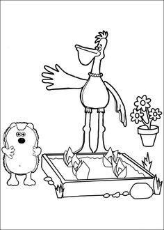Shaun the sheep Tegninger til Farvelægning. Printbare Farvelægning for børn. Tegninger til udskriv og farve nº 11