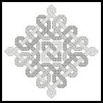 Celtic Blackwork - Cross Stitch Chart fron Artecy for $4.95
