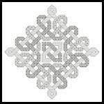 Celtic Blackwork - Cross Stitch Chart fron Artecy for $4.95