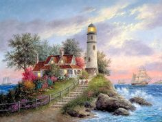 ♥  I love the colors in this painting.