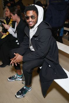 Trey Songz Photos Photos - Trey Songz attends the Public School collection during, New York Fashion Week: The Shows at Milk Gallery on February 12, 2017 in New York City. - Public School - Front Row - February 2017 - New York Fashion Week