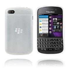 Frosted (Gjennomsiktig) Blackberry Q10 Deksel Blackberry Q10, Frost, Phone, Telephone, Mobile Phones