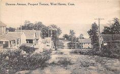 WEST HAVEN, CT ~ PROSPECT TERRACE, DAWSON AVENUE  ~  c. 1910's