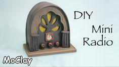 tutorial: miniature vintage cathedral radio