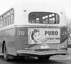 #İstanbul'da 1960lar, Büssing otobüsü ve arka planında bir Puro sabunu reklamı... #nostalji #istanlook