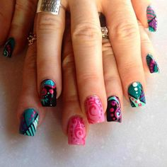 trendy colorful nail art designs 2016 2017 - style you 7
