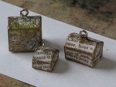 Altered Monopoly House / Hotel Charms