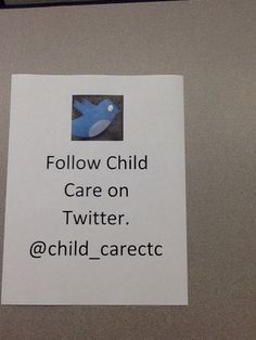 Follow us on our new Twitter account.