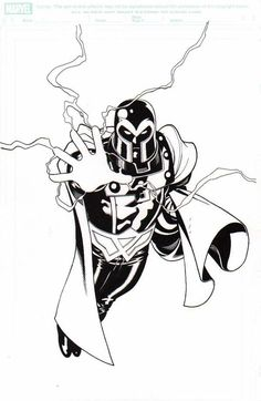 Magneto by Ed McGuinness Comic Art