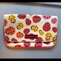 Bungalow 360 Ladybug Wristlet Barely used! Extremely clean Bungalow 360 Bags Clutches & Wristlets