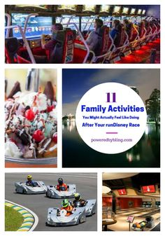 11 Family Activities You Might Actually Feel Like Doing After Your runDisney Race   poweredbybling.com #running #racecation