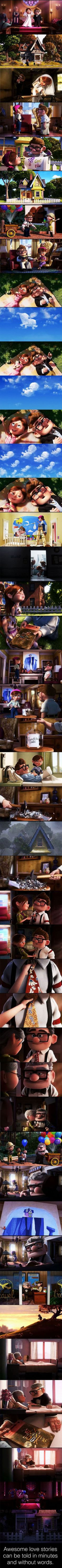 Funny pictures about The best love stories can be told without saying a word. Oh, and cool pics about The best love stories can be told without saying a word. Also, The best love stories can be told without saying a word photos. Disney Pixar, Walt Disney, Disney And Dreamworks, Disney Love, Disney Magic, Run Disney, Disney Facts, Disney Memes, Disney Cartoons