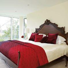 Striking headboard bedroom   Grand bedroom designs   Image   housetohome
