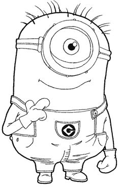 Despicable Me Coloring Pages1