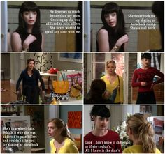 Don't Trust the B in Apartment 23 - Chloe.  This show should still be on.  Krysten Ritter was so good.