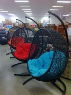 outdoor swing chair bunnings sling lite 14 best images lawn furniture hanging basket egg wicker chairs gumtree australia redland area cleveland