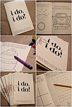 activities for the kid zone @ The wedding!!! These will be on the Kid's table with colors.