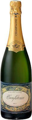 Bouteille de champagne confidence Yveline Prat