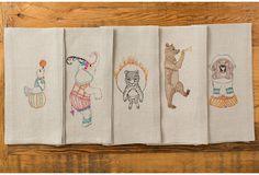 Tea Towels / Coral & Tusk Kitchen Kit, Tea Towels, Tableware, Coral, Dish Towels, Dinnerware, Tablewares, Dishes, Place Settings