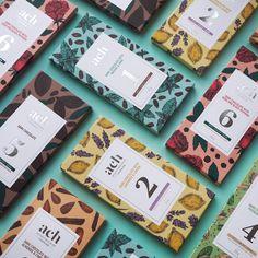 Designer: Gintarė Marcinkevičienė  Project Type: Produced, Commercial Work  Client: ACH vegan chocolate  Location: Vilnius, Lithuania  Pac...