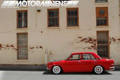 DATSUN 510 Slammed and caged