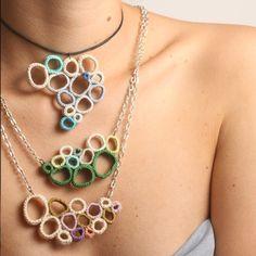 Collar de ganchillo - Crochet necklace
