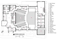 theater ground plan - Google 검색