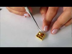 Polymer Clay Miniature Waffle Tutorial by Talty