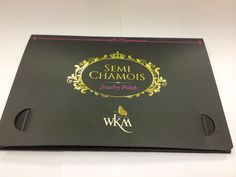WKM semi chamois jewelry cleaning cloth for watches, gemstones, pearls, silver jewelry and costume jewelry.  It a also acts as an anti tarnish agent.  Approx 16 x 22cm. Priced at $8.  Visit: http://www.wds-creation.com.sg