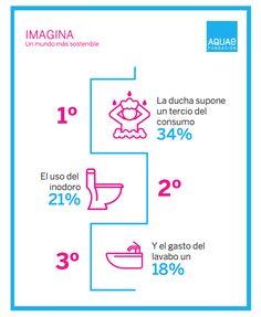 Resultado de imagen para CONSUMO DE AGUA HOGAR Math Equations, Flush Toilet, Water, Home