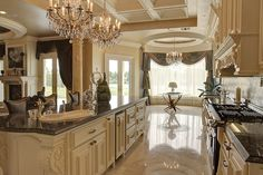 Design Gallery - Mouldings, Corbels and Fancy Kitchens, Elegant Kitchens, Luxury Kitchens, Beautiful Kitchens, White Kitchens, New Kitchen Designs, Modern Kitchen Design, Kitchen Ideas, Dream Home Design