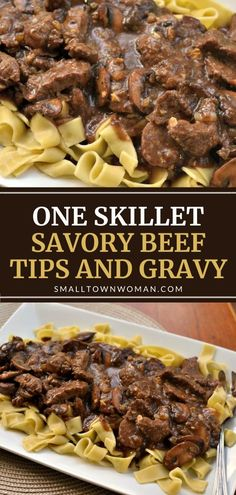 Beef Tips And Noodles, Beef Tips And Rice, Beef Tips And Gravy, Steak And Rice, Beef Tip Recipes, Beef Recipes For Dinner, Healthy Recipes, Cooking Recipes, Recipe For Beef Tips